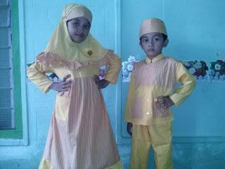 Supplier  baju seragam sekolah muslim anak di Kabupaten Sorong