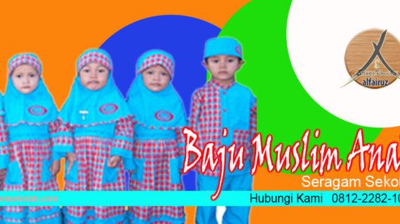 Supplier baju seragam sekolah muslim wanita di Dompu