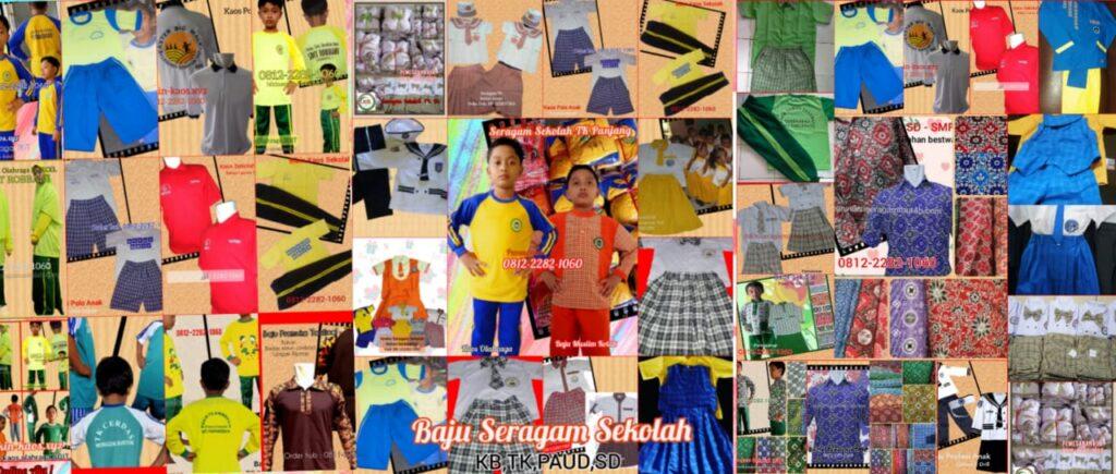 jual grosir baju seragam sekolah muslim anak di Kabupaten Pegunungan Bintang