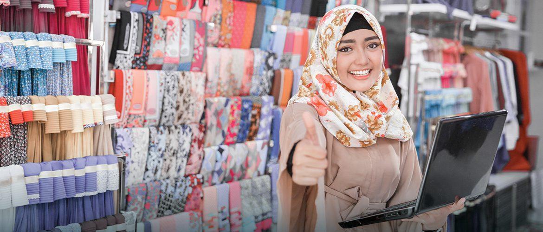 Cara Menjadi Reseller Hijab Modal Minim Untung Maksimal