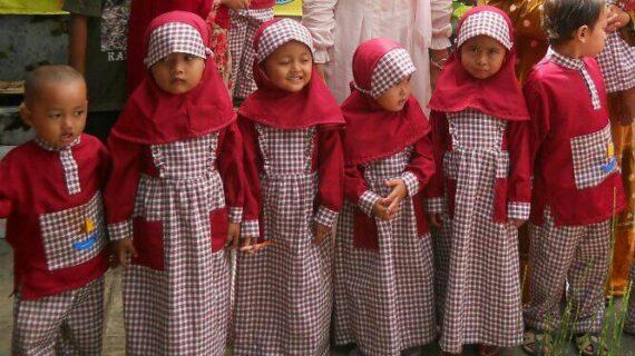 Supplier  baju seragam sekolah muslim anak di Kabupaten Bulungan