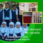 Supplier  baju seragam sekolah muslim anak di Kabupaten Tulang Bawang